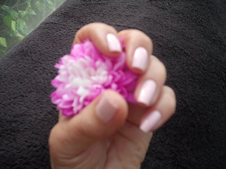 Home. Hazels nails with flower